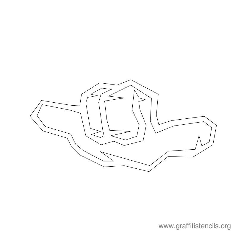dice graffiti a4 templates
