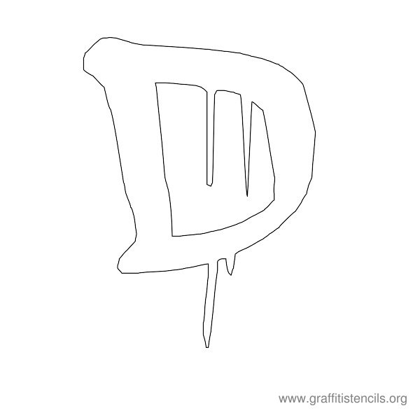 Dripping urban graffiti stencil letters uppercase graffiti dripping uppercase graffiti sample d spiritdancerdesigns Image collections