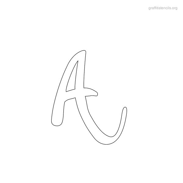Graffiti Stencils Designs in Printable Letters. Download and Print ...